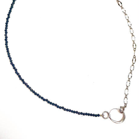 minamo chain necklacesーブラックスピネル-