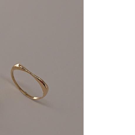 minamo thin ring k18 イエローゴールド