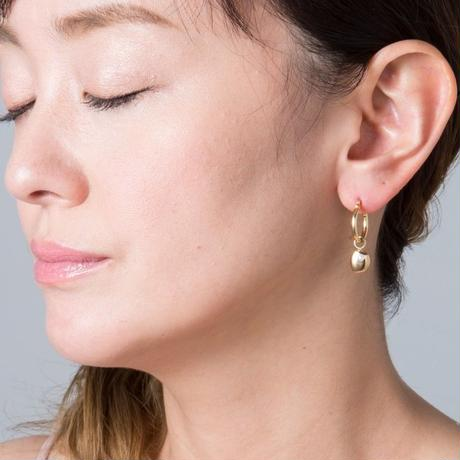 Phase of  the moon earrings-silver 925セット