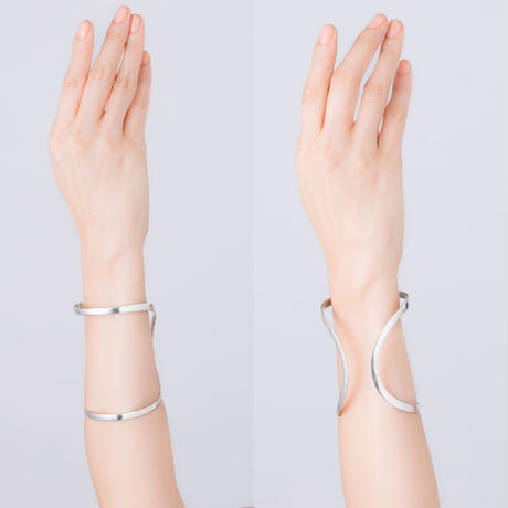 happiness of the loop ring BANGLE (幅広めタイプ)