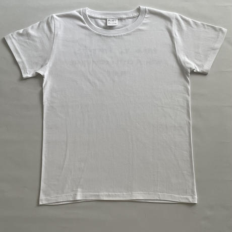 PLAFU message T-shirt