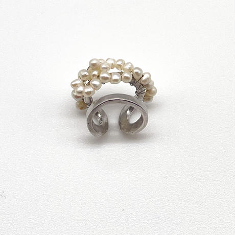 Happiness of the loop earcuff-pearl-smallA