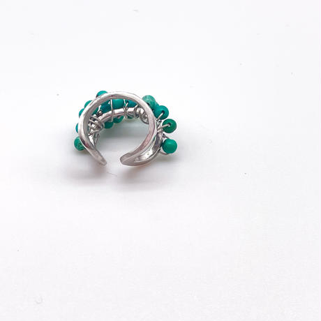 happiness of the loop earcuffーturquoise-B