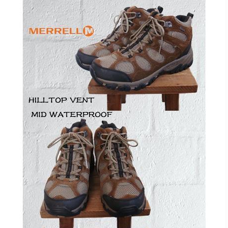 MERRELL メレル HILLTOP VENT MID WATERPROOF トレッキングシューズ