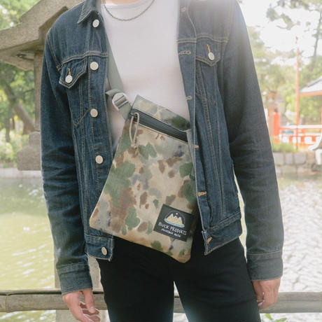 BUCK PRODUCTS Classic Musettes Bag Black バックプロダクツ クラシック ミュゼットバッグ サッコシュ アウトドア ショルダーバッグ  5色