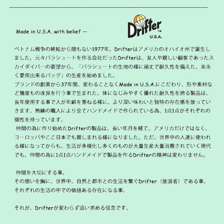 Drifter ドリフター Classic Hip Sack Medium クラシック ヒップ サック M