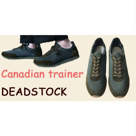 Canadian Military Trainer shoes Dead Stock カナディアン ミリタリー トレーナー シューズ