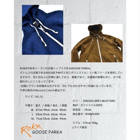 ROKX ロックス グースパーカー メンズ アウター トップス パーカー GOOSE PARKA