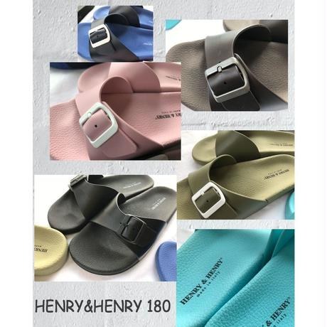 HENRY&HENRY ヘンリー&ヘンリー コンフォートサンダル 180 CAPRI