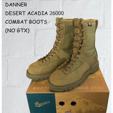ダナー DANNER DESERT ACADIA 26000 MILITARY BOOTS (NO GTX) デザートアケーディア