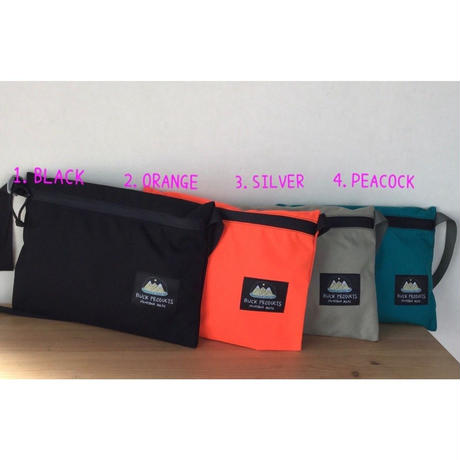 BUCK PRODUCTS Classic Musettes Bag バックプロダクツ クラシック ミュゼットバッグ サッコシュ