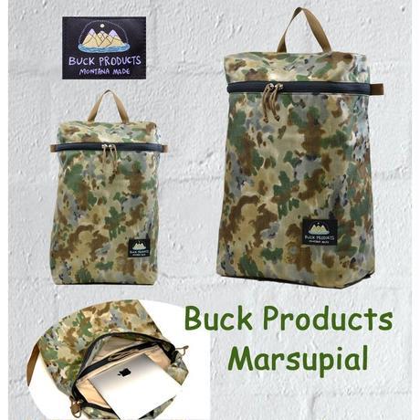 BUCK PRODUCTS MARSUPIALS  COVERT CAMO バックプロダクツ ミニ マースピアル  ハンドメイド バックパック  リュック (L)