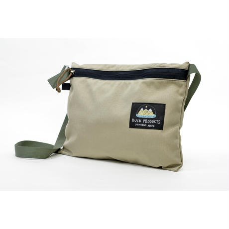 BUCK PRODUCTS Classic Musettes Bag Caveバックプロダクツ クラシック ミュゼットバッグ サッコシュ  アウトドア ショルダーバッグ