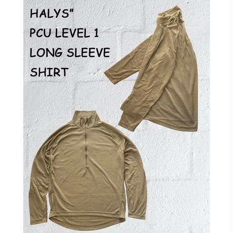 ロングスリーブシャツ HALYS PCU LEVEL 1 LONG SLEEVE SHIRT レベル 1