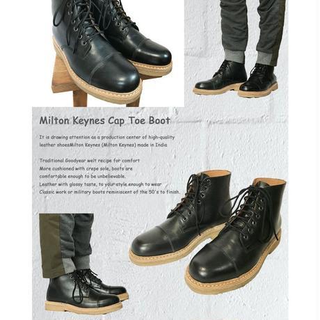 Milton Keynes ミルトン・キーンズ Cap Toe Boot キャップトゥ ブーツ