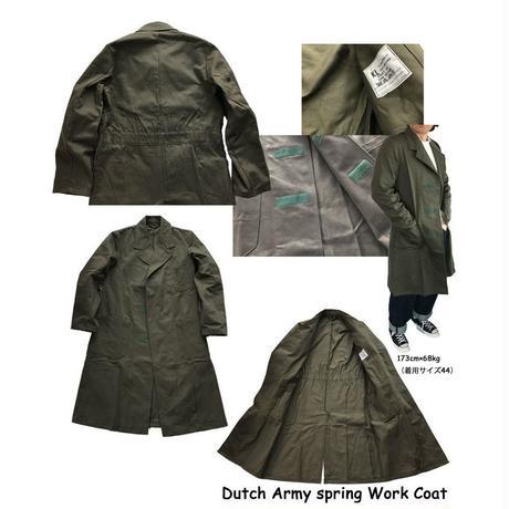 スプリングコート デッドストック Dutch Army