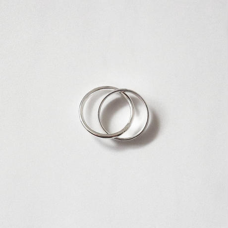 [silver925] Double circle ring