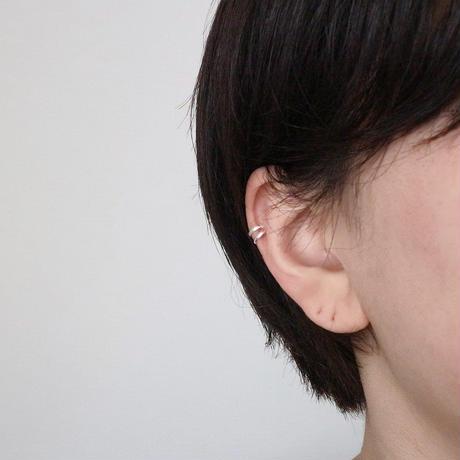 [silver925] double line earcuff