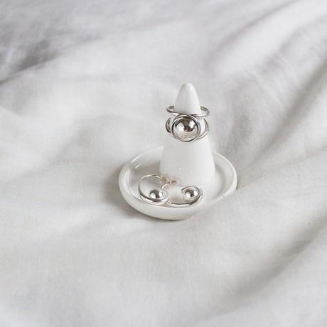 [silver925] tail ball pierce