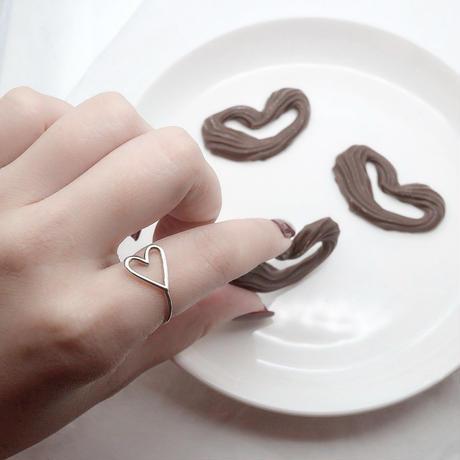 ラスト1 [silver925] heart ring
