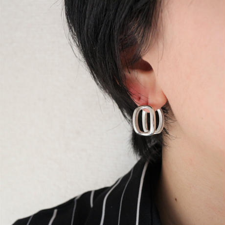 last1 [silver925] ellipse pierce