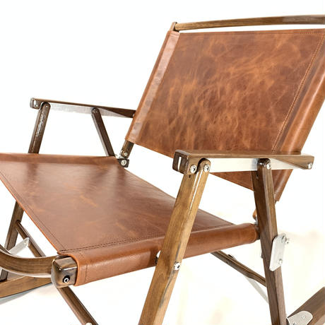 Kermit Chair Walnut コンプリートセット (camel leather)