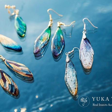 【蝉】【オーダーメイド】Cicada Pierce / Earring / Necklace