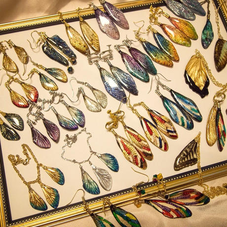 【蝶】Butterfly Pierce -Brown Silver -