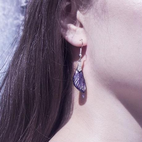 【蝉】Cicada Pierce Mini - Purple -