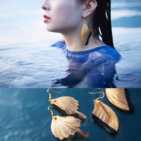 【蝶】Butterfly Pierce -Black Gold -