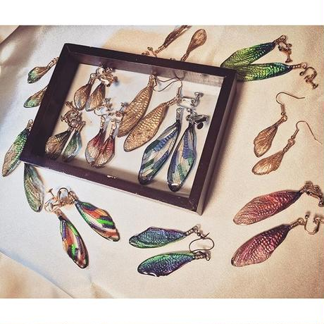 【蝉】Cicada Pierce - Stained Glass  Multi - ①