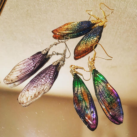 【蝉】Cicada Pierce - Rainbow Gradation -