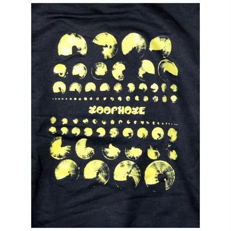 LOOPHOLE WHEELS / GOLD VISION ON HOODIE