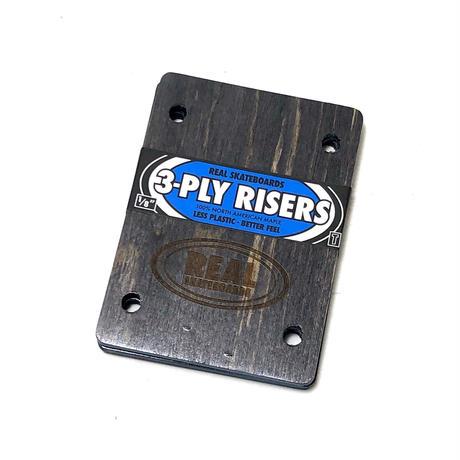 """REAL / RISER PAD 3PLY RISERS THUNDER  1/8"""""""