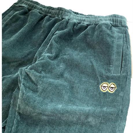 KROOKED / ELASTIC WAIST CORDUROY PANTS