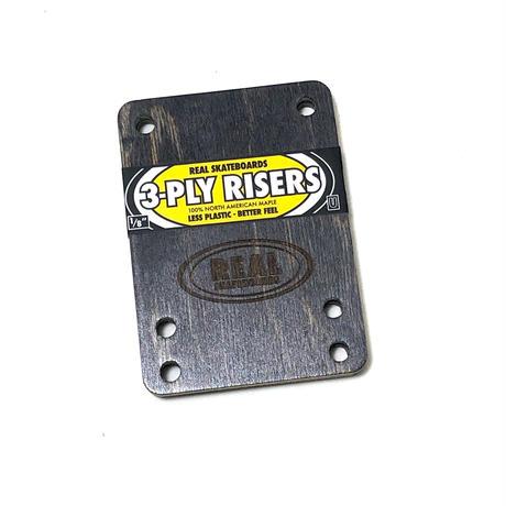 "REAL / RISER PAD 3PLY RISERS UNIVERSAL  1/8"""