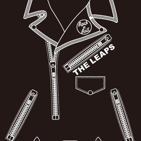 ライダース風Tシャツ/THE LEAPS