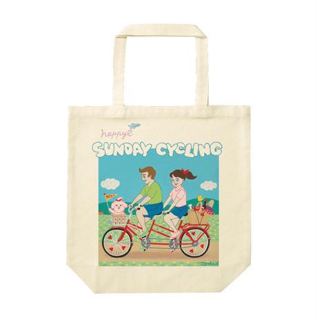 AYAKA_SAKURANBO『サイクリング』トートバッグM