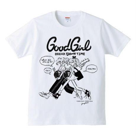 ジェニー・カオリ「GOOD GIRL Break(down)Time」(Mono)Tee