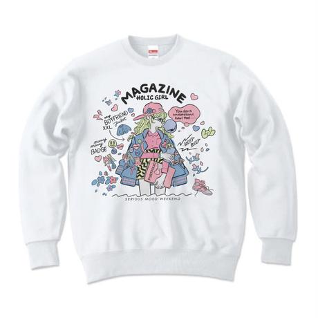 ジェニー・カオリ「MAGAZINE HOLIC GIRL」スウェット(Color)