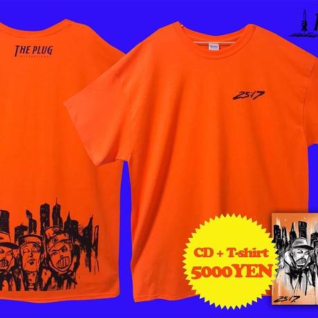 CD & Tシャツ「Omen-44, Nipps n Vikn - 25:17 CD & T-SHIRTS」