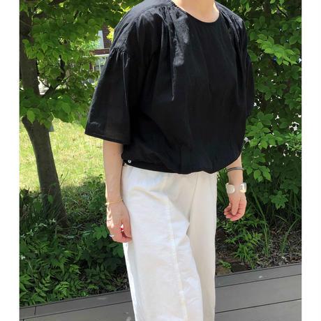 miho umezawa cotton loan balloon blouse