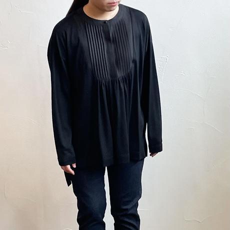 atelier naruse wool&linen buzam shirt