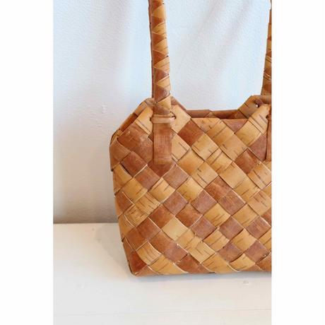 swedish birch shoulder bag