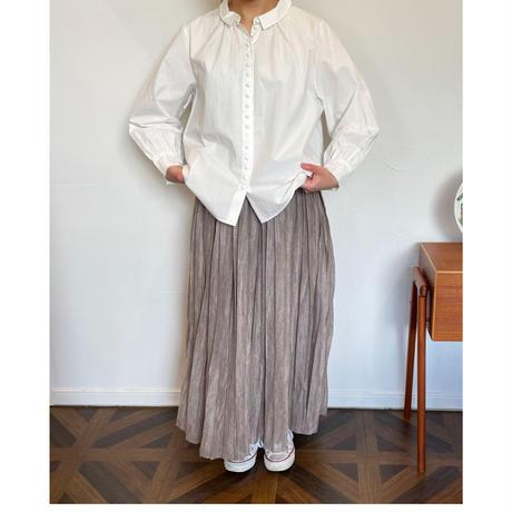 """HAU knit skirt  """"pleats"""""""