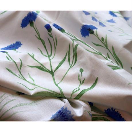 Marimekko blue flower tablecloth