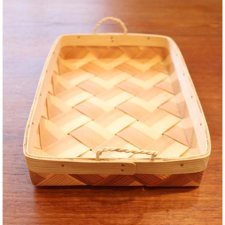 Sweden Spankorg rectangle basket  large size