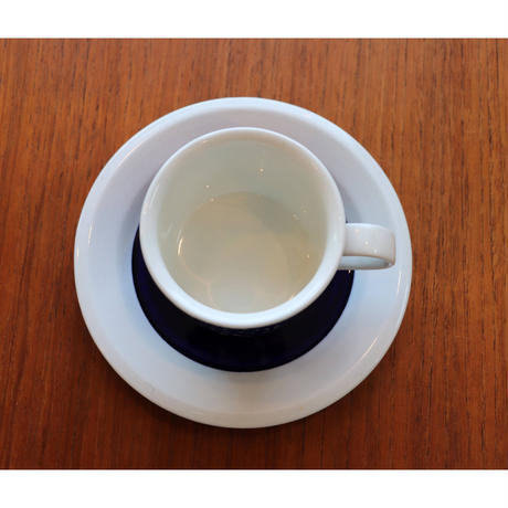 Arabia Faenza coffee c/s blue