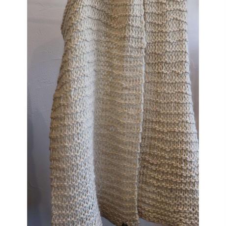 Eldblau shawl rough