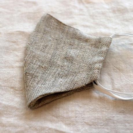 miho umezawa  linen silk mask